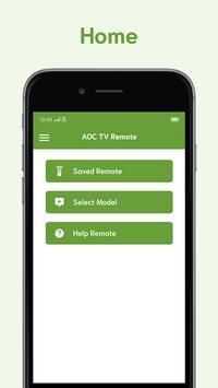 Remote For AOC TV screenshot 1