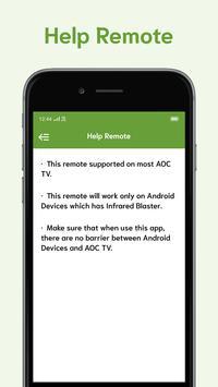 Remote For AOC TV screenshot 5