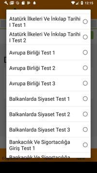 E-Öğrenme Test Çöz screenshot 3