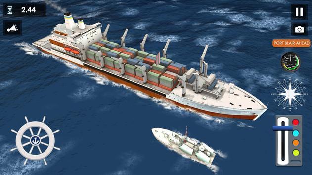 Big Container Ship Simulator poster