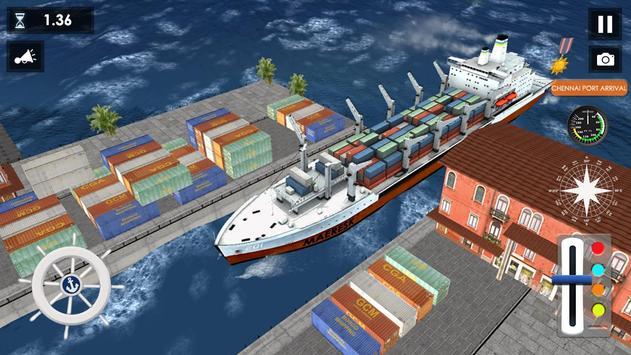 Big Container Ship Simulator screenshot 2