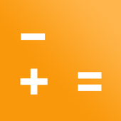 Ad-free Calculator for simple operations icon