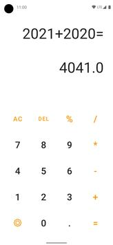 Ad-free Calculator for simple operations screenshot 2