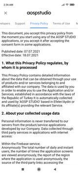 AOSP STUDIO Mobile Services screenshot 3