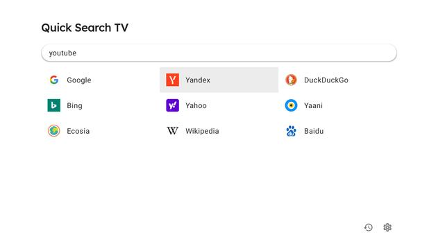 Quick Search for Android TV screenshot 1