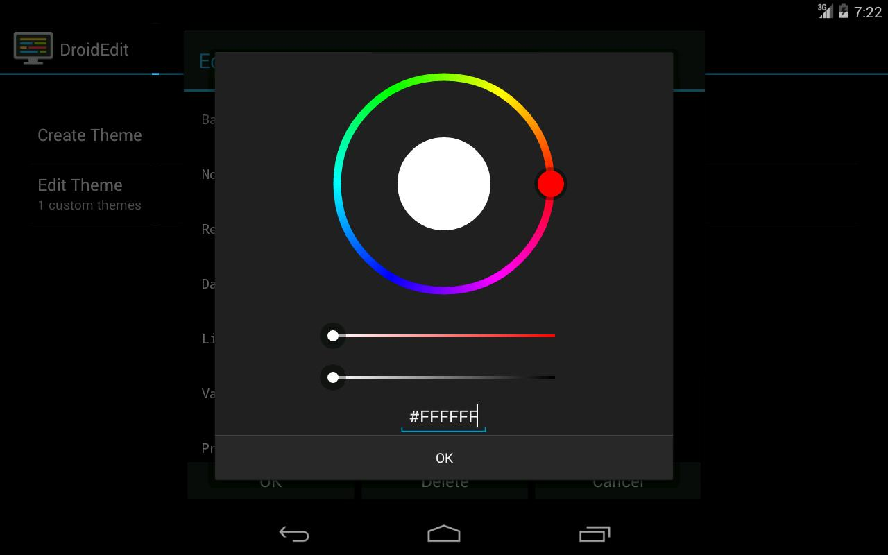 DroidEdit (free code editor) for Android - APK Download