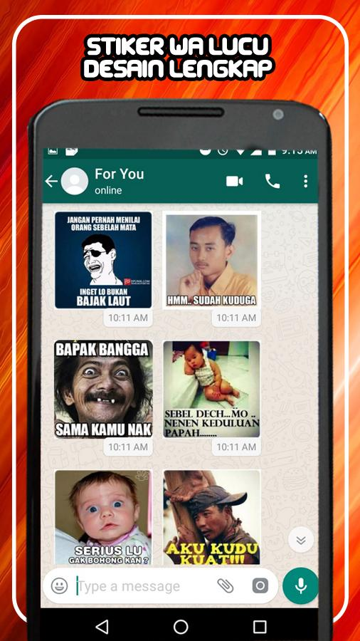 Perang Gambar Sticker Wa Lucu Wastickerapps For Android Apk Download