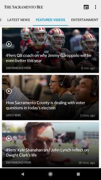 The Sacramento Bee newspaper الملصق