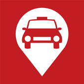 Red & White Taxi APP icon