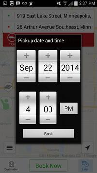 Red & White Taxi APP screenshot 4