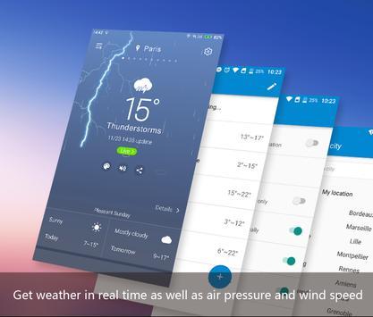 APE Weather ( Live Forecast) 스크린샷 1