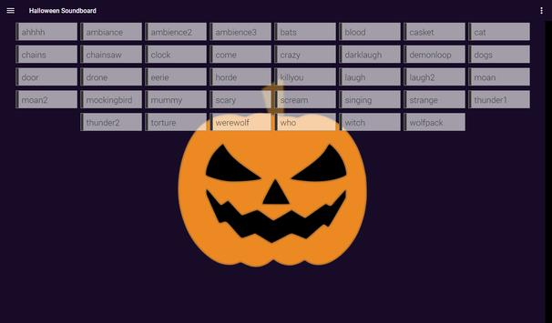 Halloween Soundboard screenshot 3