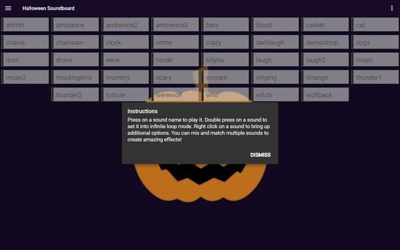 Halloween Soundboard screenshot 7