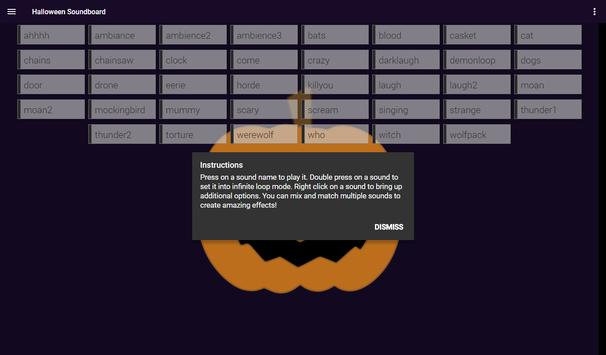 Halloween Soundboard screenshot 4