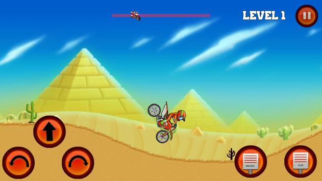 Moto Hill Bike Racing screenshot 10