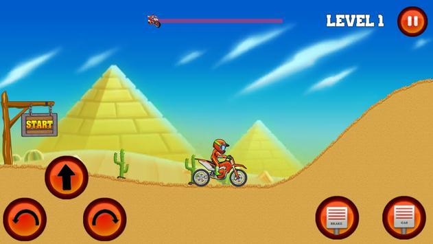 Moto Hill Bike Racing screenshot 6