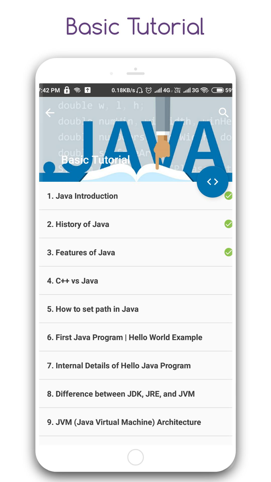 Learn Java Pro for Android - APK Download