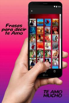 Frases bonitas de amor con imágenes románticas screenshot 5