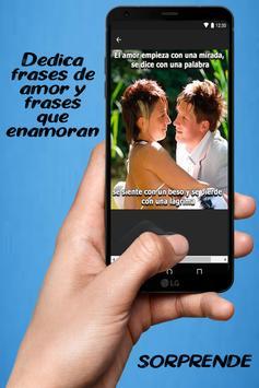 Frases bonitas de amor con imágenes románticas screenshot 6