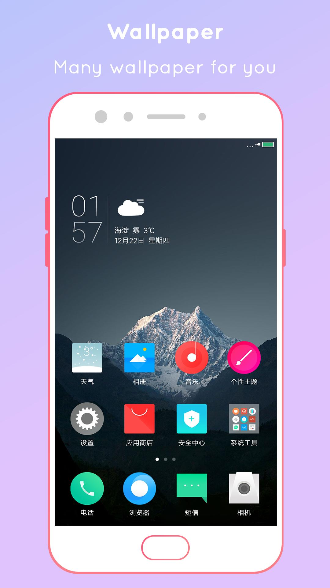 MIUI10 Launcher, Theme for all android devices for Android - APK