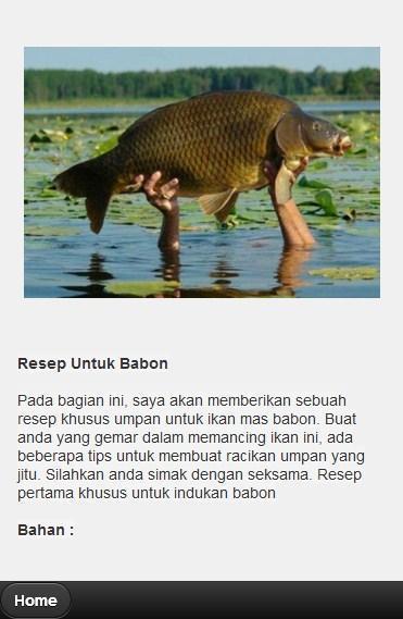 Umpan Ikan Emas Lengkap For Android Apk Download