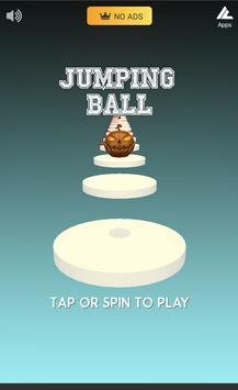 Jumping Ball on Spinning Surface screenshot 1
