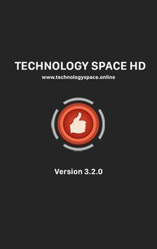 Technology Space HD poster