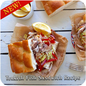 Turkish Fish Sandwich Recipe icon