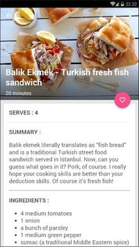 Turkish Fish Sandwich Recipe screenshot 3