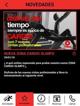 Olimpo Fitness screenshot 9