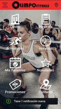 Olimpo Fitness poster