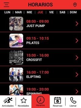 Olimpo Fitness screenshot 12