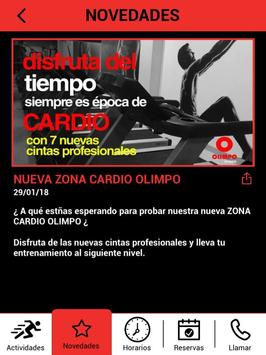 Olimpo Fitness screenshot 14