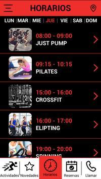 Olimpo Fitness screenshot 2