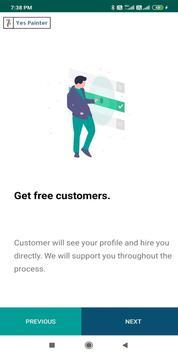 Yes Painter - Partner App screenshot 2