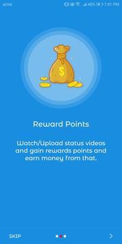 Best Vidstatus- WhatsApp, FB, IG - Earn money screenshot 3