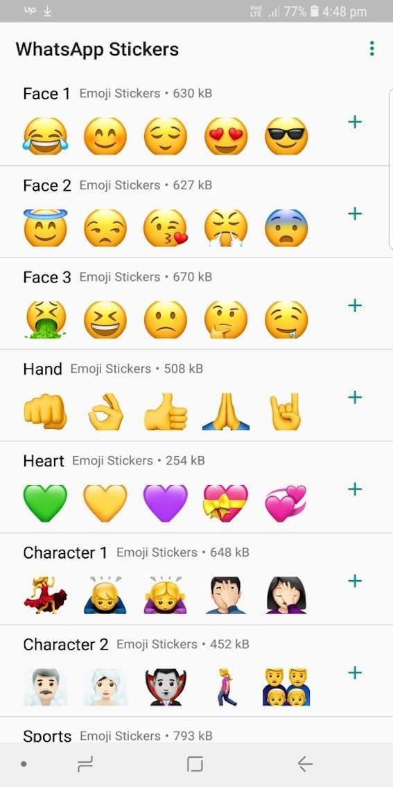 XL Emoji Sticker for WhatsApp (WAStickerApps) for Android