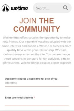 WeTime: Happy Couple App, Couples Quiz, Say Hi poster