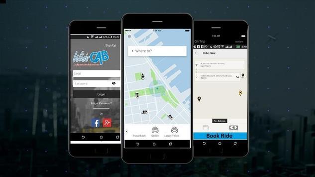 Winiscab Driver App screenshot 2