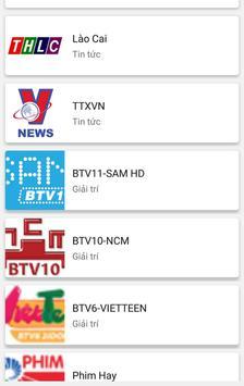 Xem TV ( Tất cả các kênh ) screenshot 4