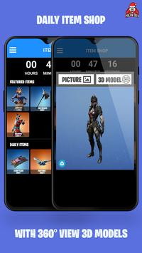 Companion for Fortnite BR (Stats,Emotes,Shop,Map) poster