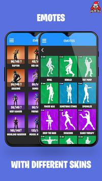 Companion for Fortnite BR (Stats,Emotes,Shop,Map) screenshot 1