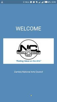 Zambia Arts and Culture Guide poster