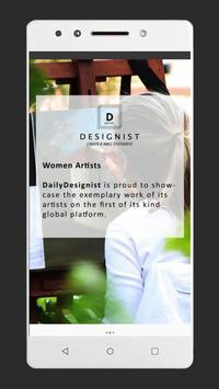 DailyDesignist Artists screenshot 1