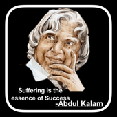 Dr Kalam Thoughts : DP Status And Motivation icon