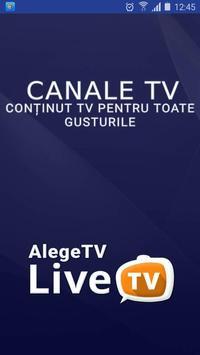 AlegeTV poster