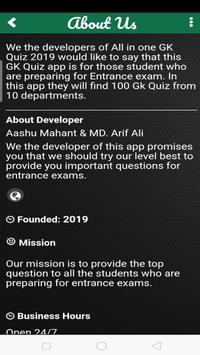 GK Quiz 2019 screenshot 5