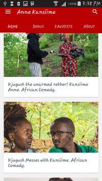 Kansiime Anne - Funny Uganda Comedy Video App poster