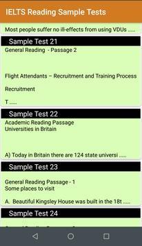 IELTS Sample Tests screenshot 2