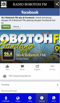 Radio Bobotoh Fm screenshot 5